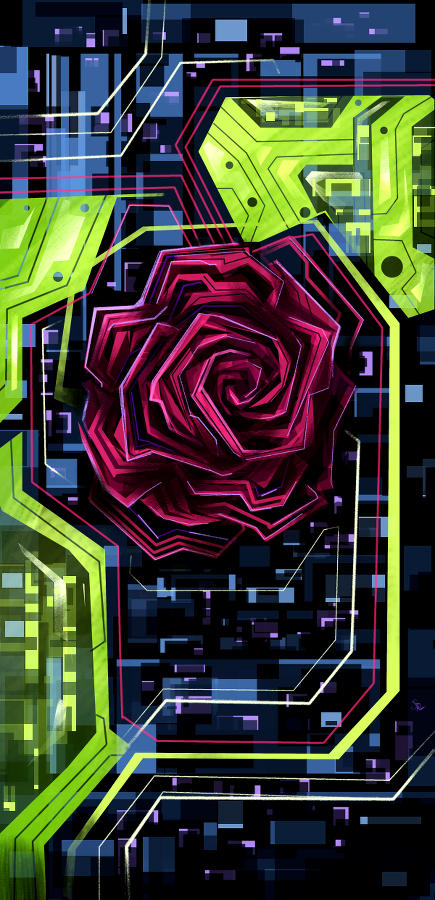 Digital Rose