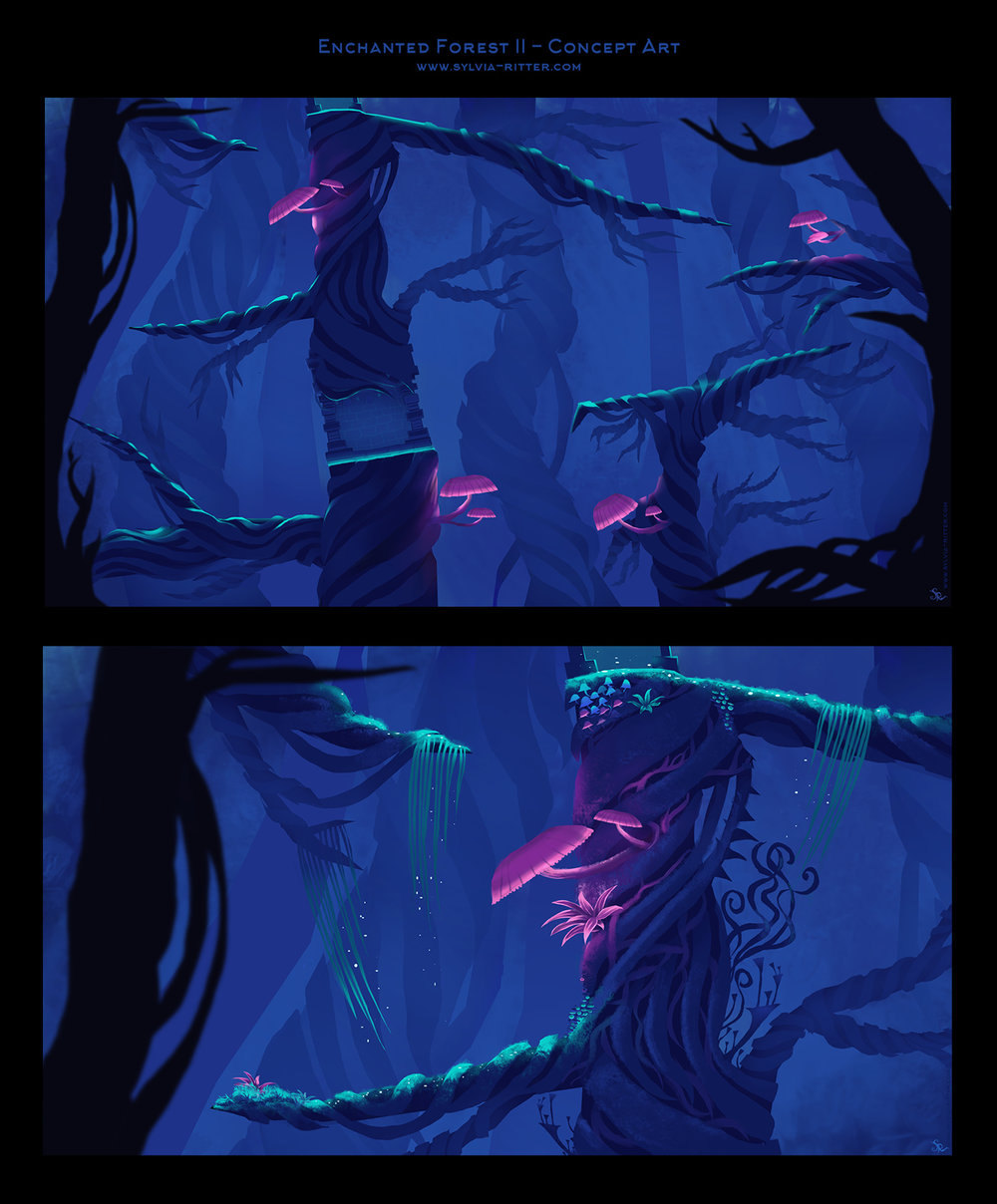 Enchanted Forest Concept Art II