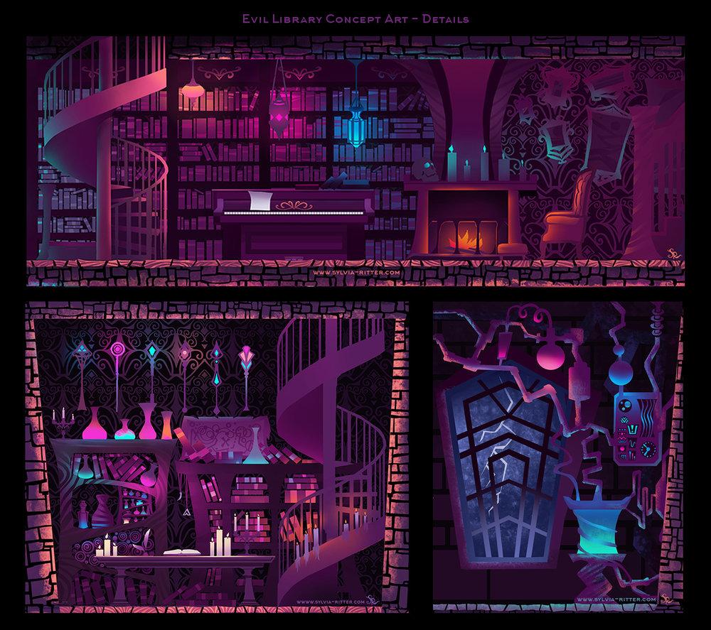 Evil Library - Details