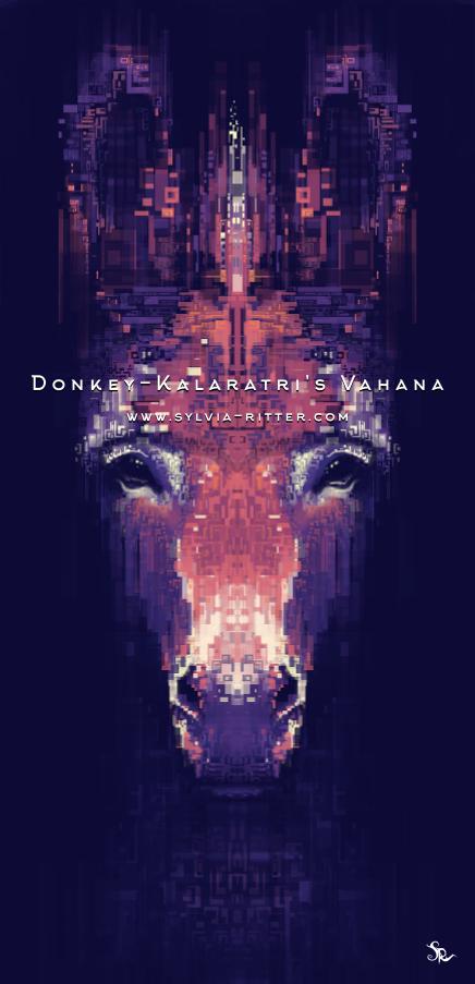 Donkey - Kalaratri's Vahana