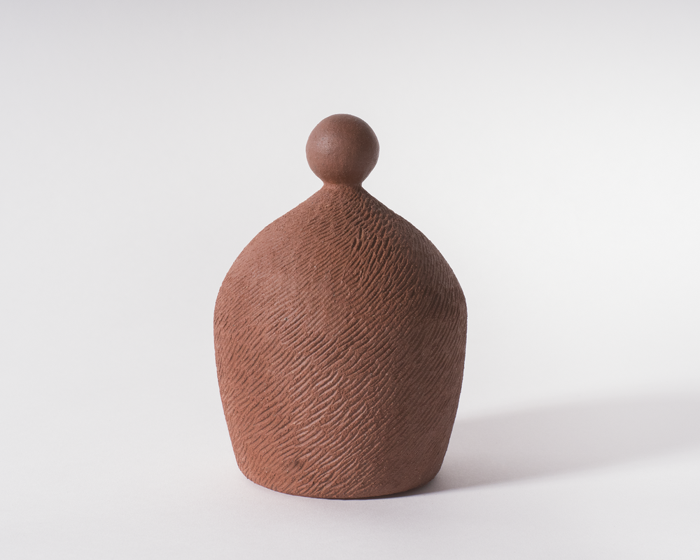 Untitled 29   Stoneware  6 x 3.75 x 3.75 inches