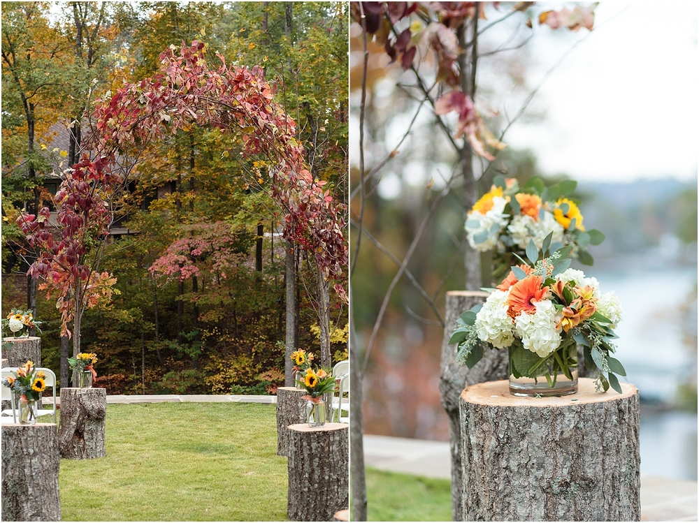 Ceremony,ashley amber photo,folder,intimate wedding,lake keowee,lake wedding,lakefront wedding,rustic wedding,seneca,