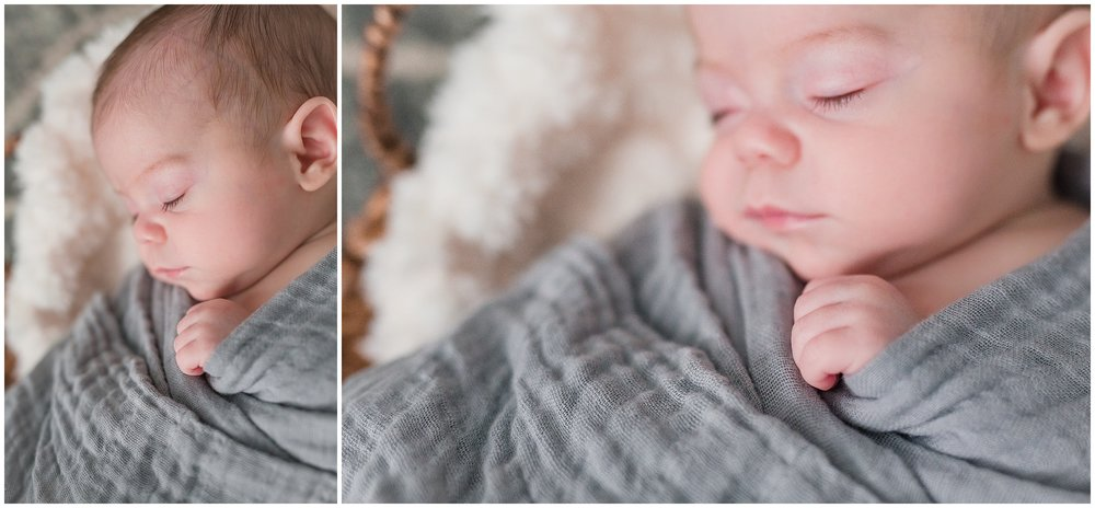 Carolinas Home Newborn Photographer