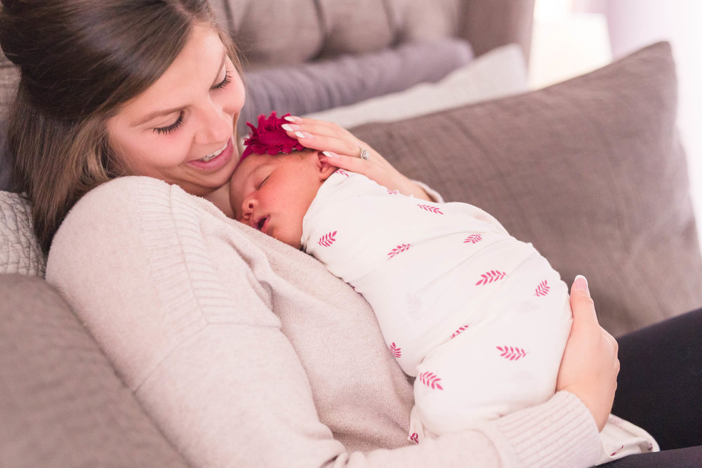 Lifestyle Home Newborn Session