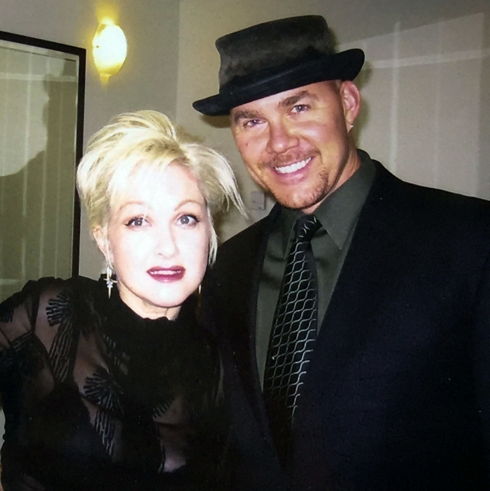Todd & Cindy Lauper