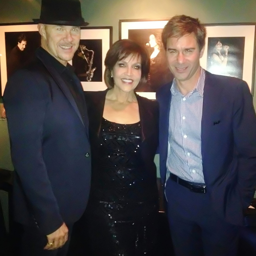 Todd with Joan Ryan and Eric McCormack