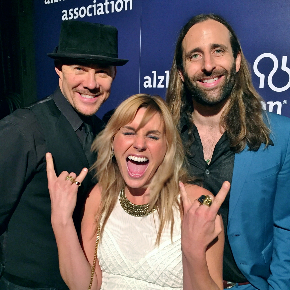 Todd with Grace Potter and Matt Burr