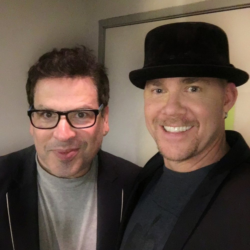 Todd with Michael Orland