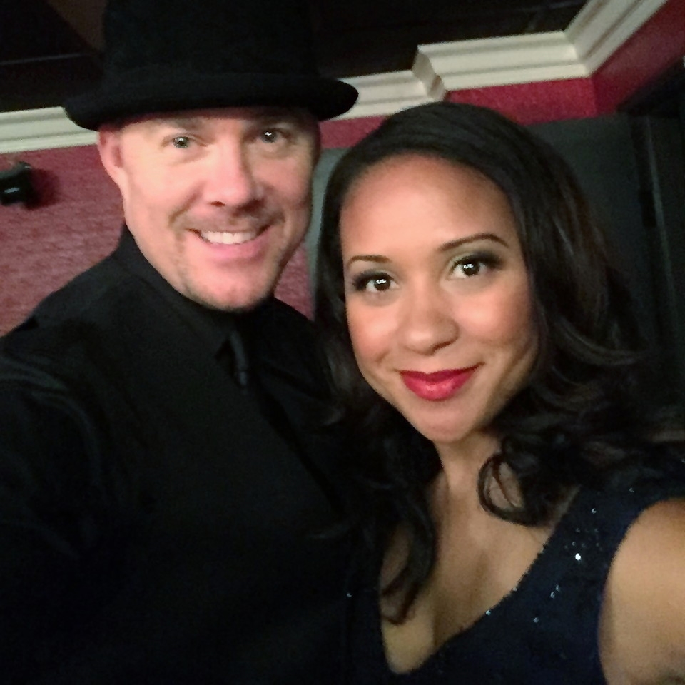 Todd with Tracie Thoms