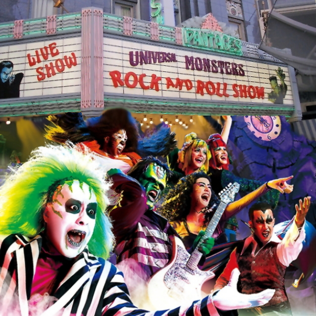 Monsters Live Show - Universal Studios Japan