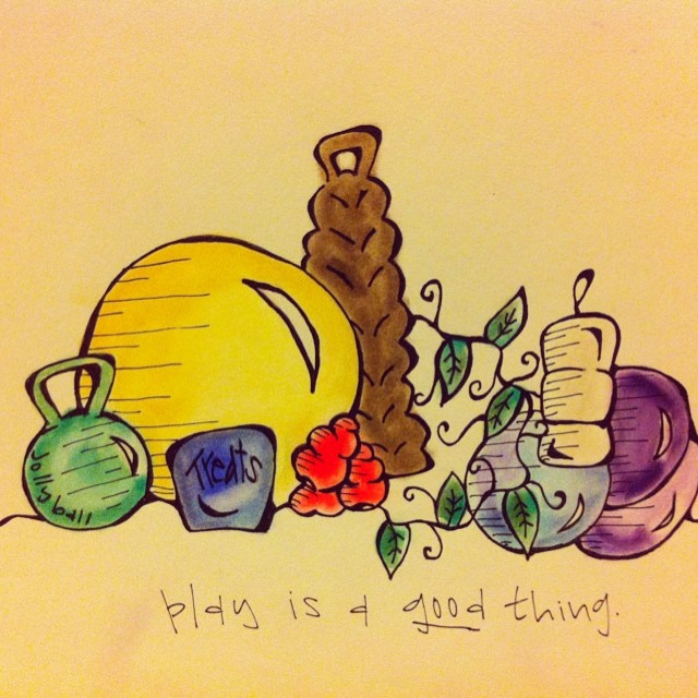 "Lesson four of the #khakishorts #nzkw mini book: ""Play is a good thing."""