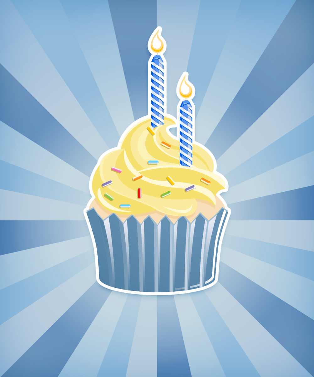 Khaki Shorts turned 2 today! Happy Birthday Blog!