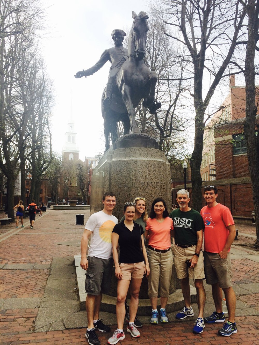 Our Freedom Trail crew!