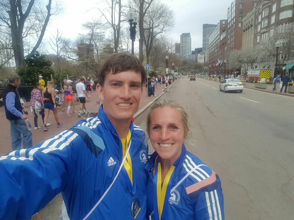 Post-marathon pics are the BEST. Not.