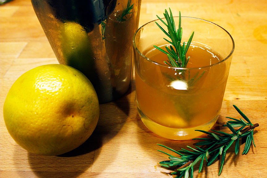 Rosemary's Bourbon