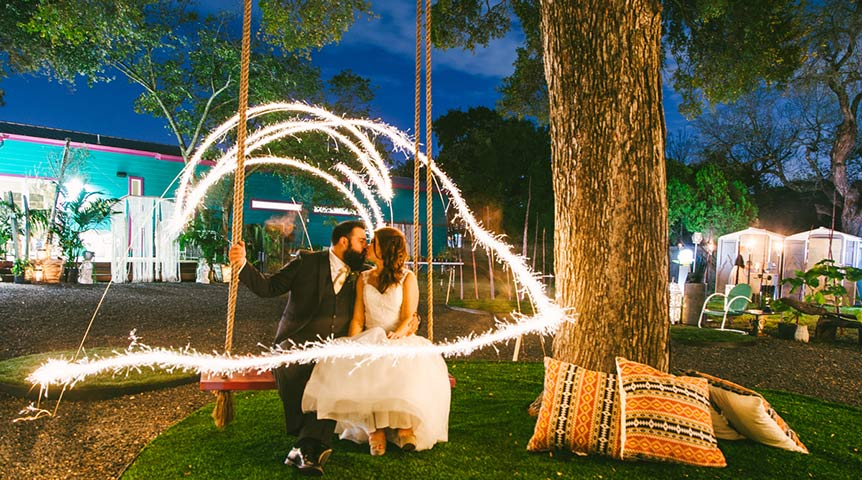 Articulture wedding venue in Austin, TX  |  Photo by:  Alexandra White Photography