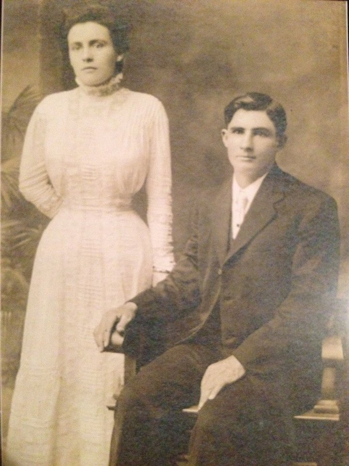 My Great Grandmother Mabel and her Husband Harvey