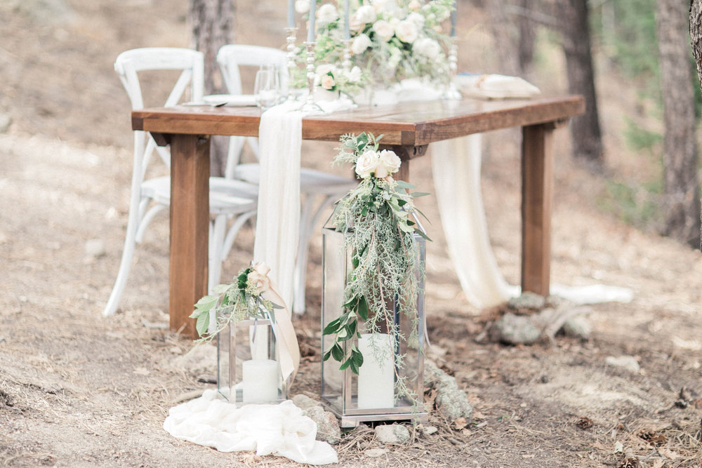 Rustic Trades Clayton Farm Wood Table Colorado