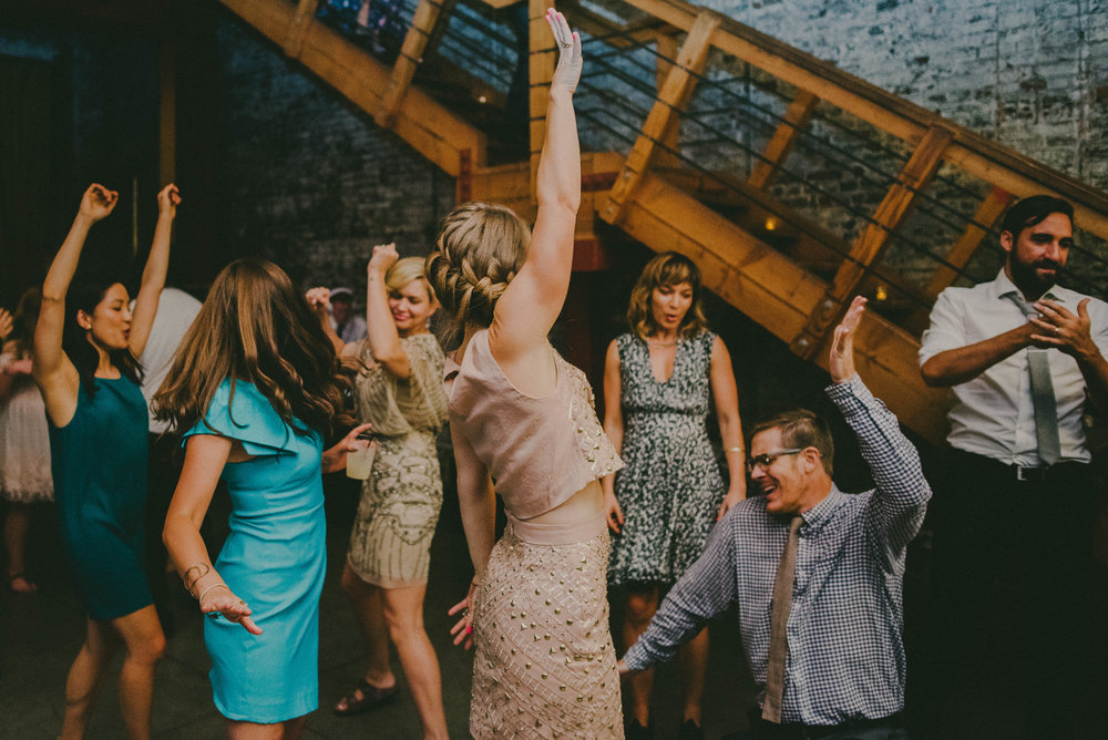 Weddings - Get weird with friends and family.