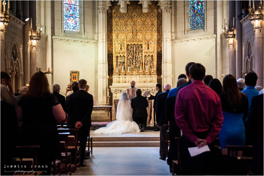 Jessica Roman Photography - Tiffany & Shawn's wedding at Grace Cathedral Wedding in San Francisco, CA