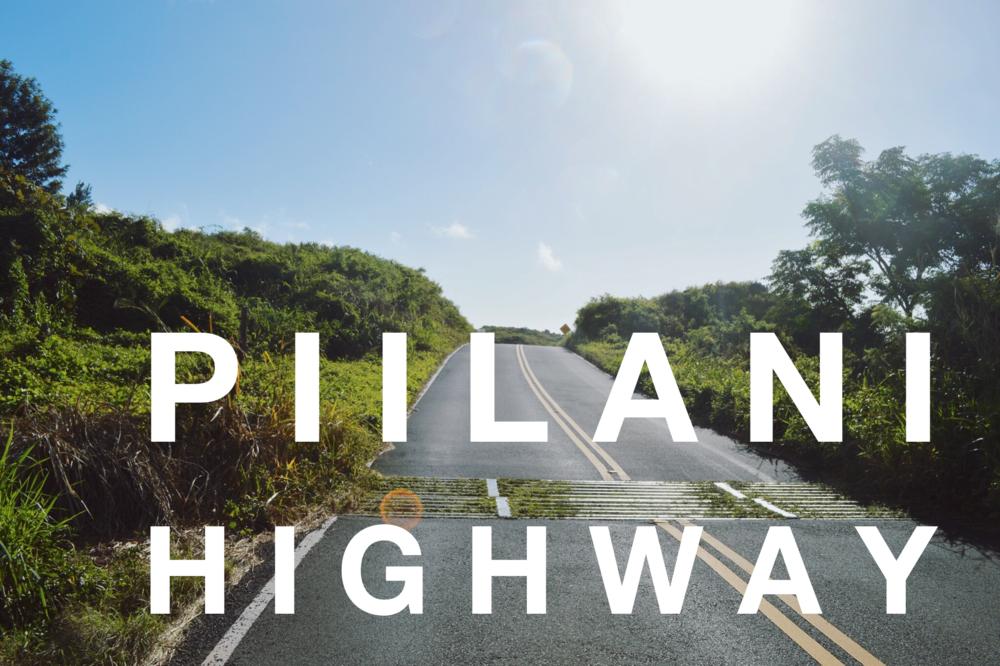 Piilani Highway + SaltWaterVibes