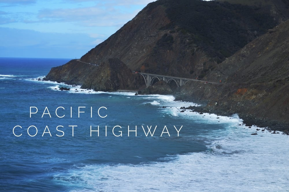 Pacific Coast Highway + Salt Water Vibes