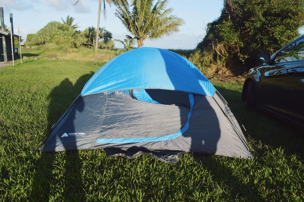 Camping Haleakala