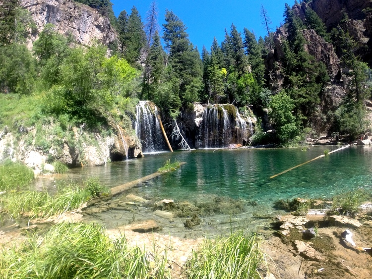 Hanging Lake + Salt Water Vibes