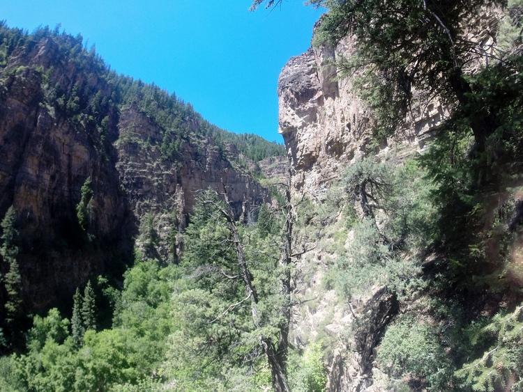 Hanging Lake + Salt Water Vibes
