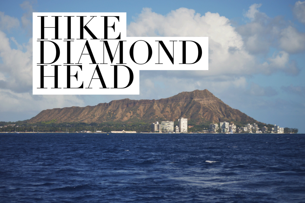 Diamond Head + Salt Water Vibes