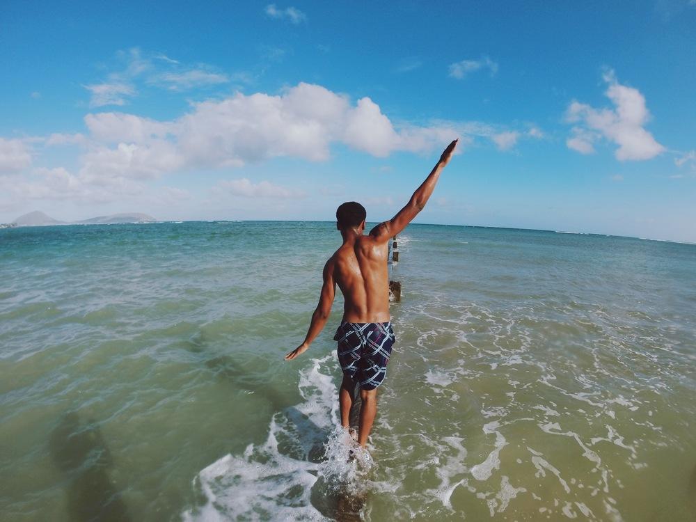 Kahala Beach + SaltWaterVibes