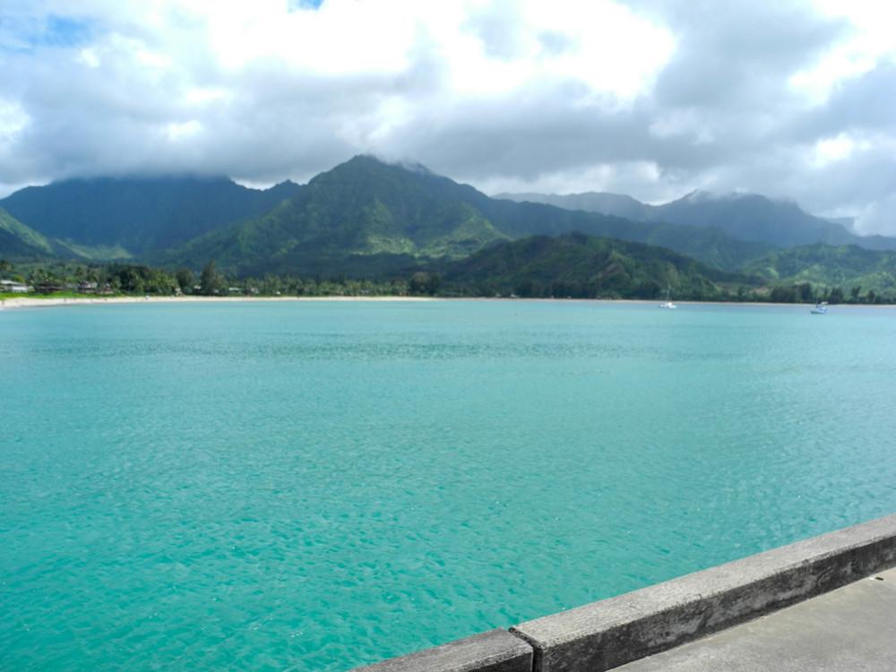Hanalei Pier + Salt Water Vibes