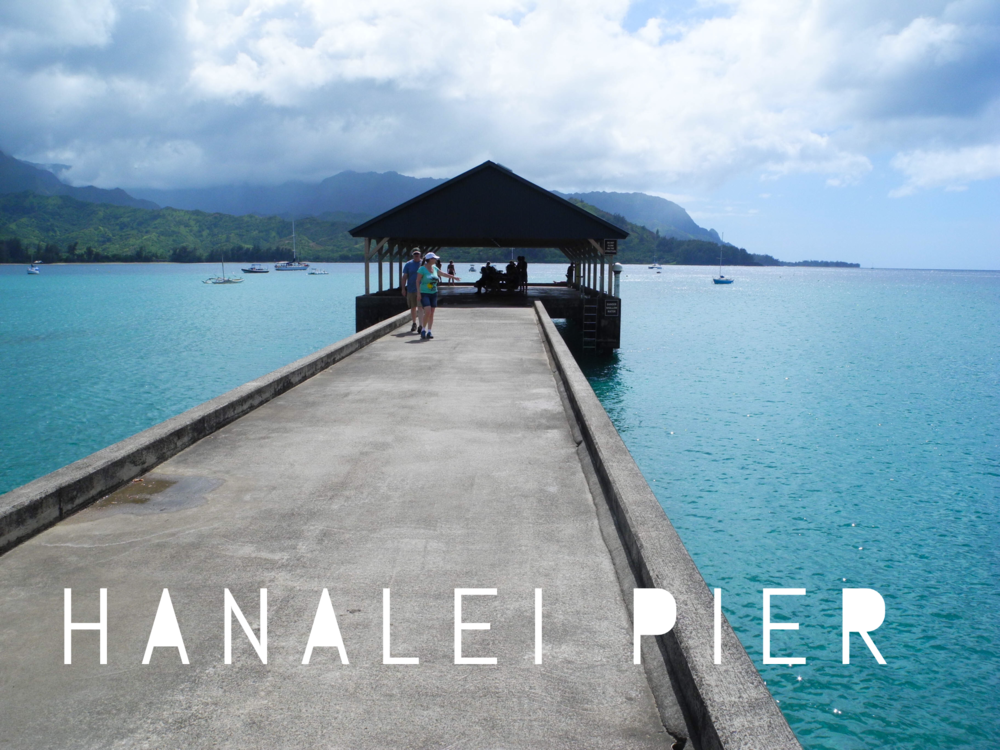 Hanalei Pier + SaltWaterVibes