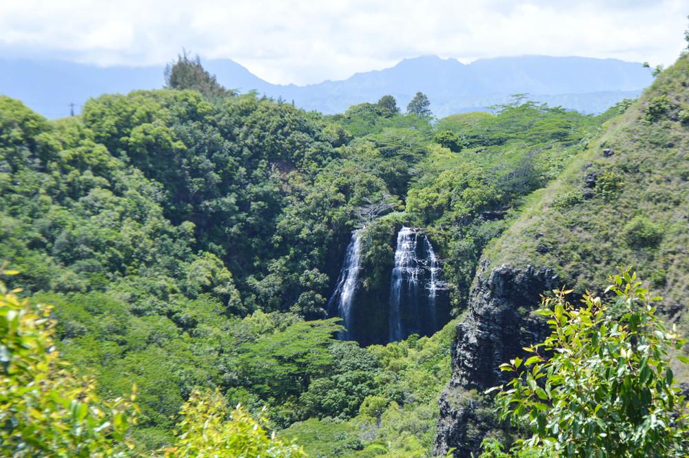 Opeakaa Falls + Salt Water Vibes