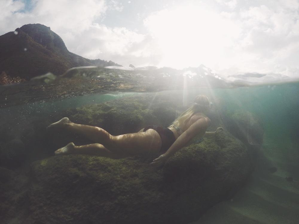 Tunnels Beach + SaltWaterVibes