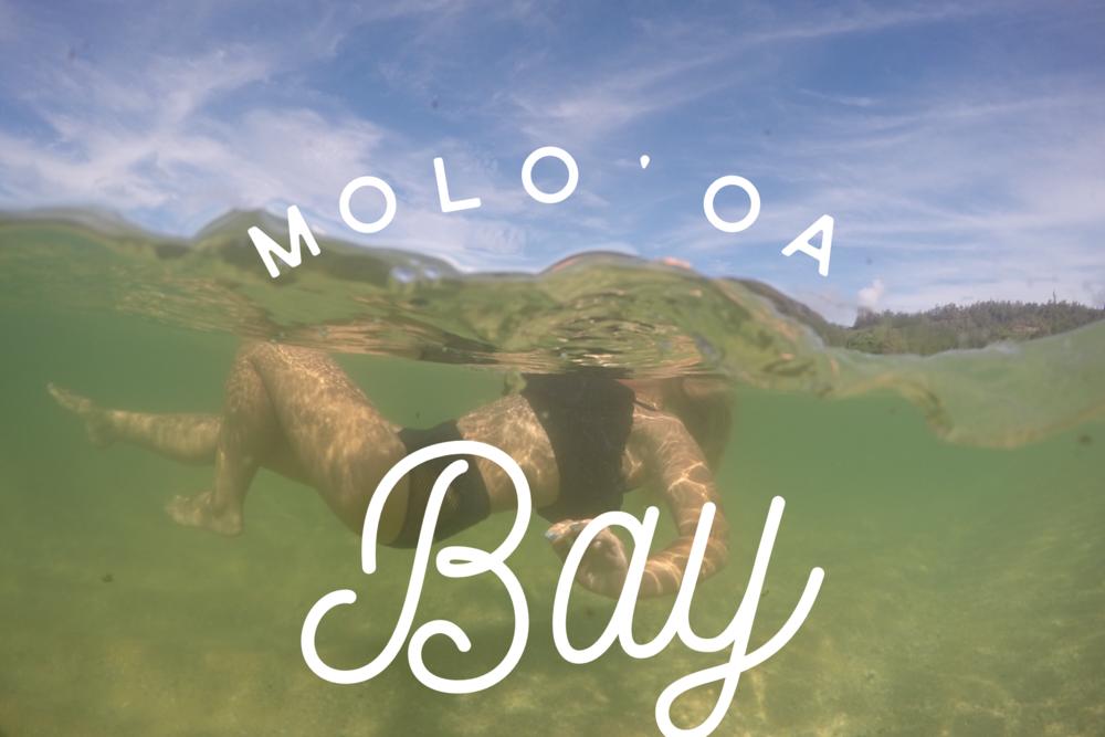 Molo'oa Bay + SaltWaterVibes