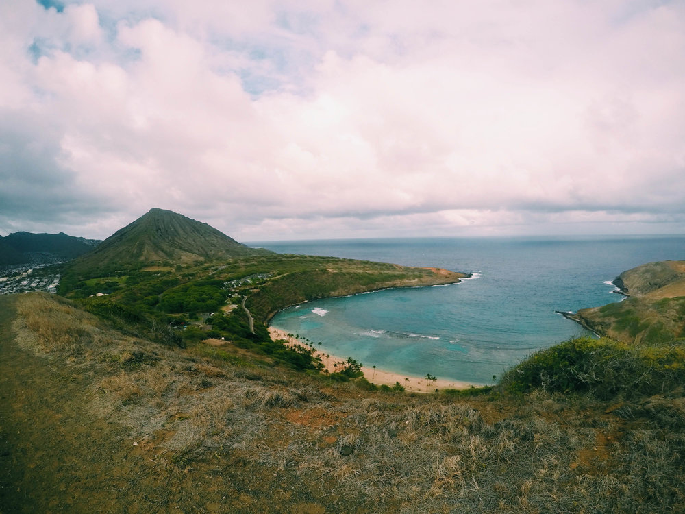 Hanauma Bay Ridge Hike + SaltWaterVibes