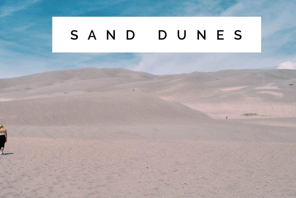 Sand Dunes + SaltWaterVibes