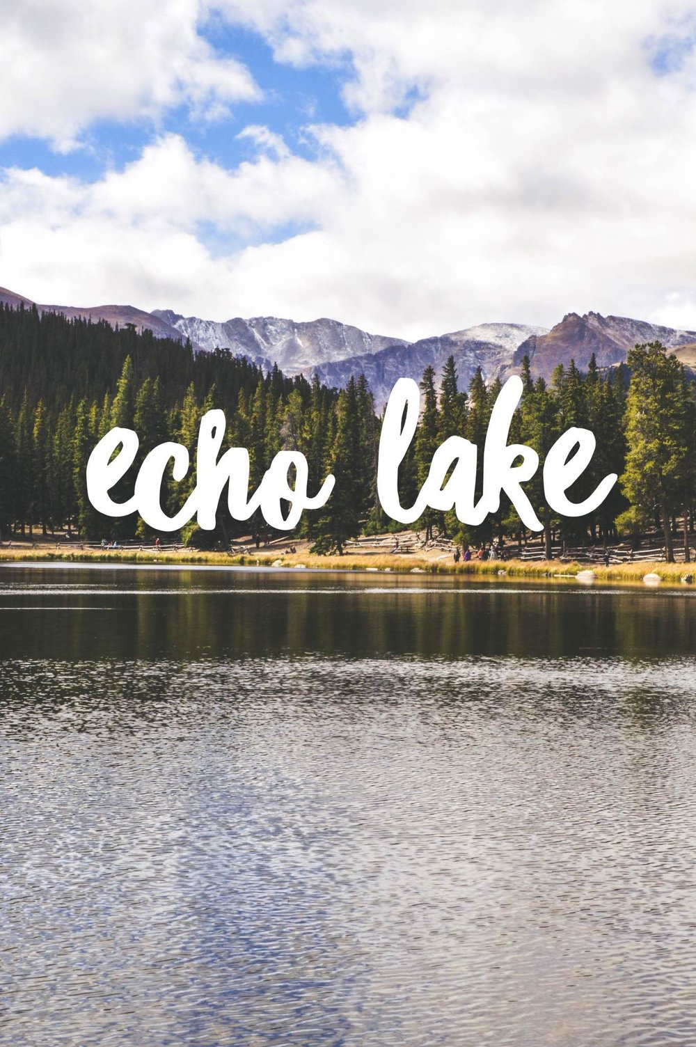 Echo Lake + SaltWaterVibes