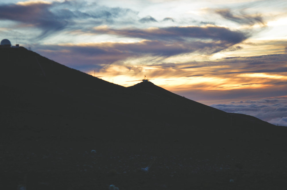 Sunset at Haleakala + SaltWaterVibes