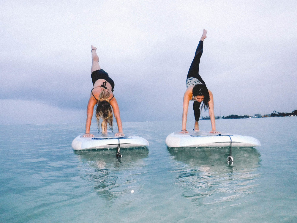 SUP Yoga Hawaii + SaltWaterVibes