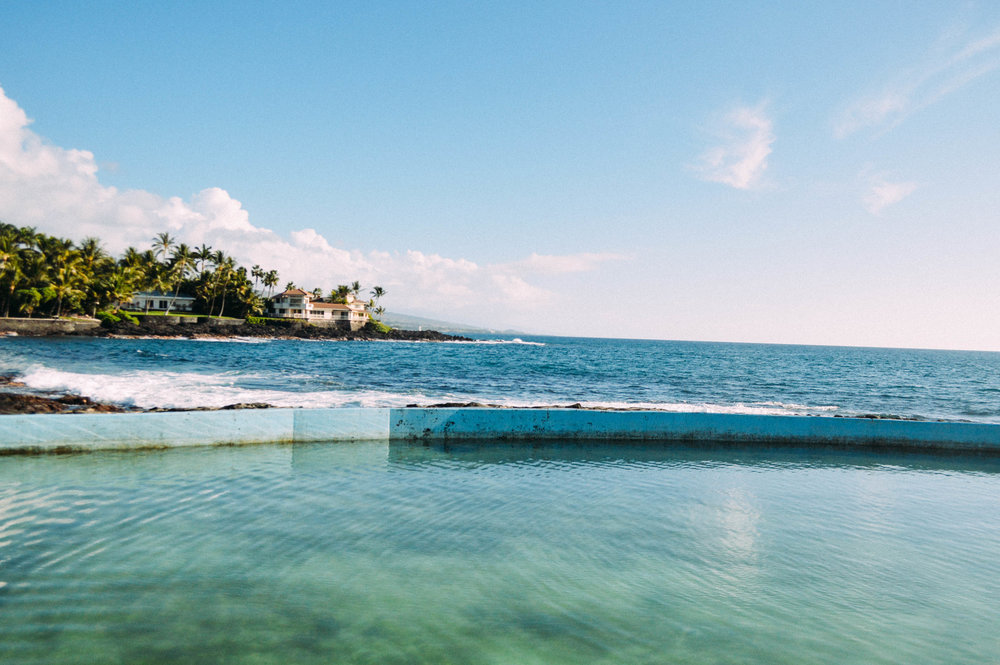 Big Island, Ali'i Saltwater Pool, ocean, Hawaii, Ocean pool,