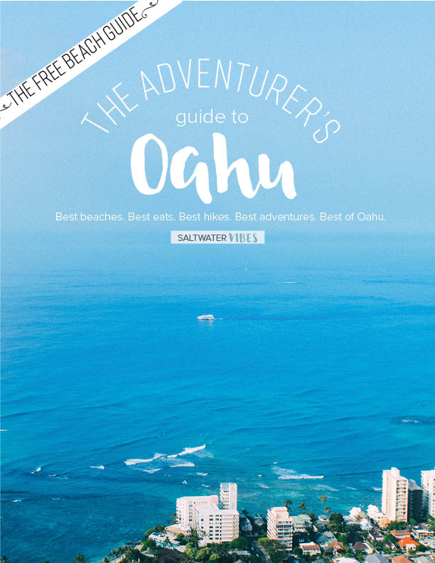 check out some of the best beaches on Oahu in this FREE guide - you will unlock full details on three of the best beaches on oahu