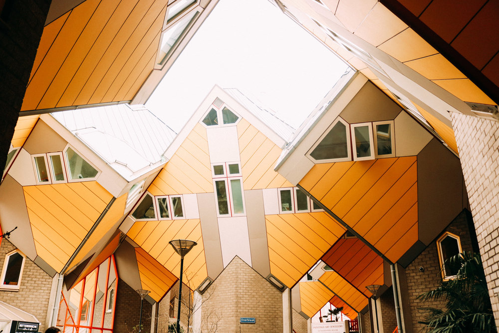 A Look Inside The Rotterdam Cube Houses | SaltWaterVibes