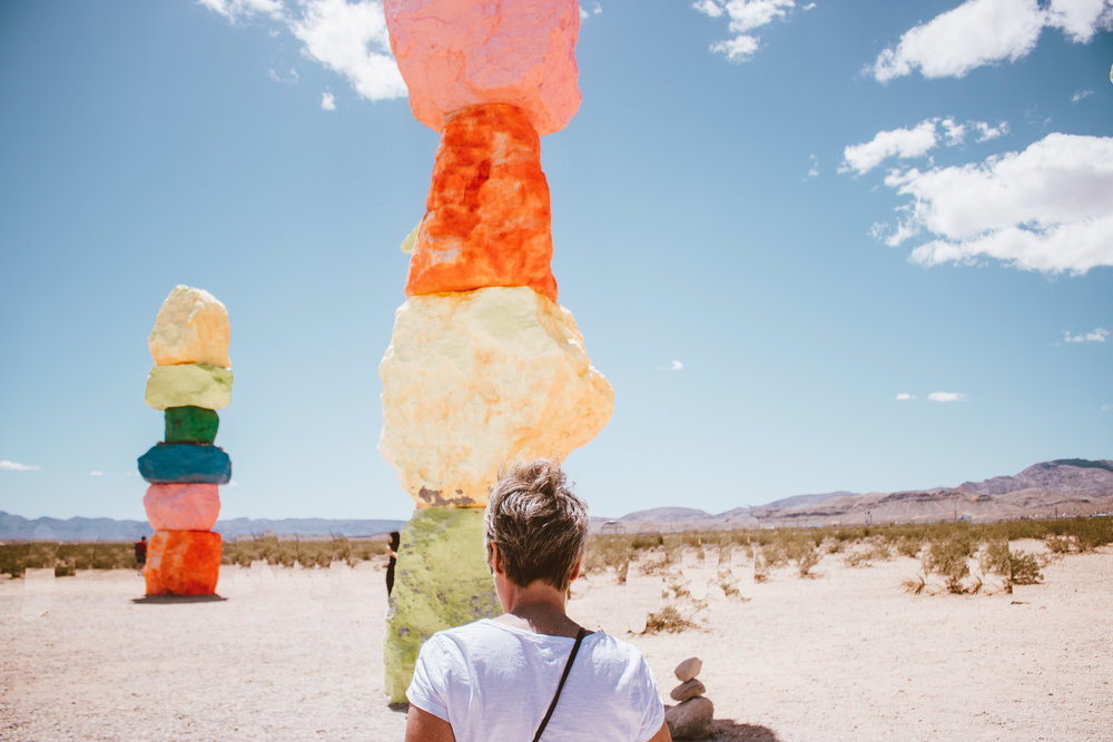 Seven Magic Mountains | SaltWaterVibes