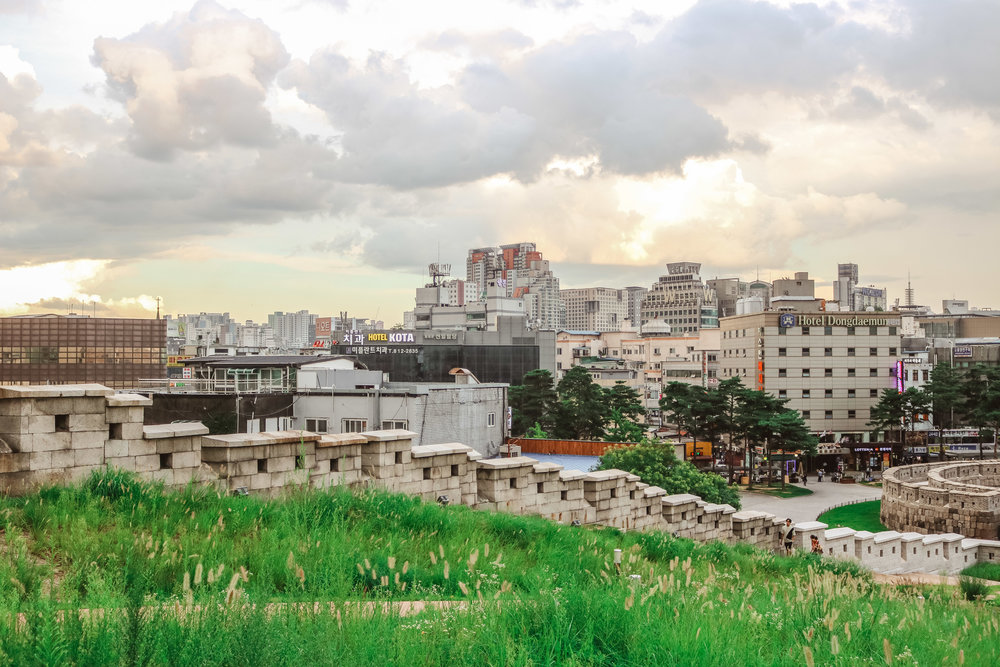 Seoul Fortress Wall | SaltWaterVibes