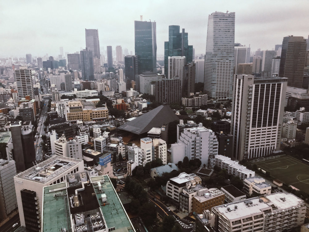 An Adventures Up Tokyo Tower | SaltWaterVibes