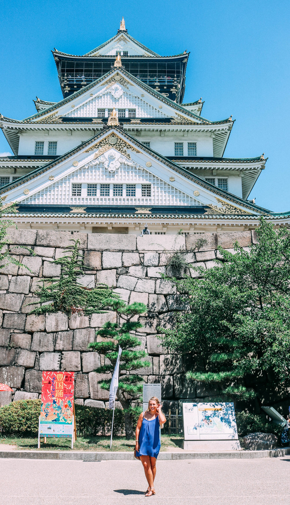 How To Visit an Ancient Japanese Castle | SaltWaterVibes