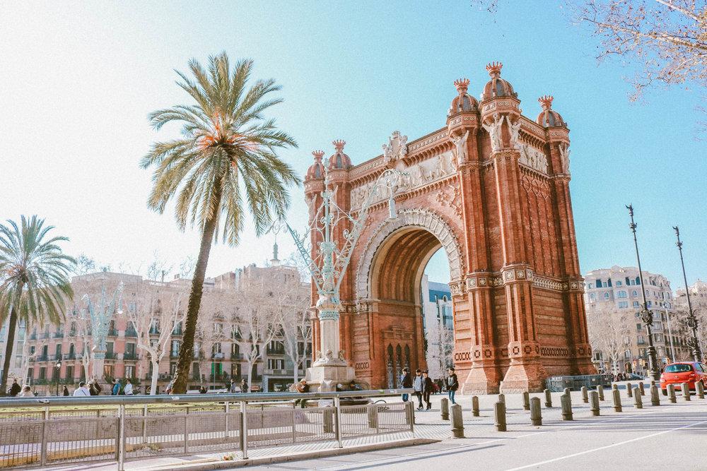 Arc De Triomf Barcelona | SaltWaterVibes