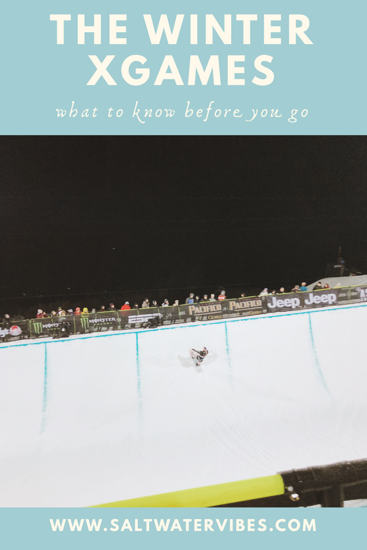 The Winter X Games | SaltWaterVibes